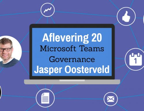 Episode 20 – Jasper Oosterveld About Teams Governance