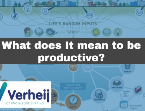 What does it mean to be productive?